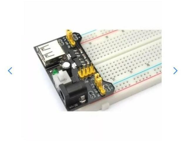 COD-AM20 Fonte De Alimentação 3.3v 5v Mb102 Protoboard Arduino -
