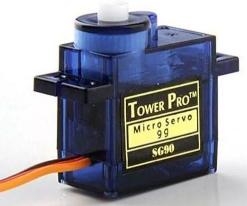 COD-AM28 Micro Servo Motor 9g Sg90 Arduino Raspberry Aeromodelismo Rc Robotica - Foto 2