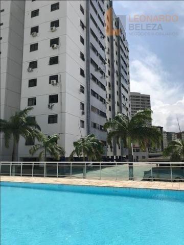 Apartamento com 3 dormitórios à venda, 115 m² - fátima - fortaleza/ce - Foto 13