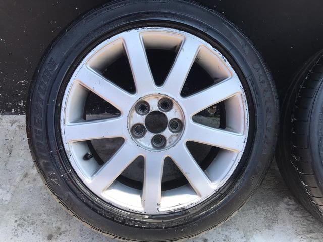 Jogo de rodas Aro 17 Audi RS4 Até 10x s/ juros - Foto 3