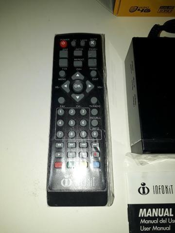 Conversor Digital para TV com visor de Led HDMI e USB Infokit ITV-500 - Foto 5