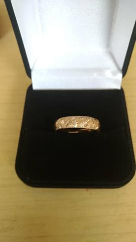 Anel ouro 12k