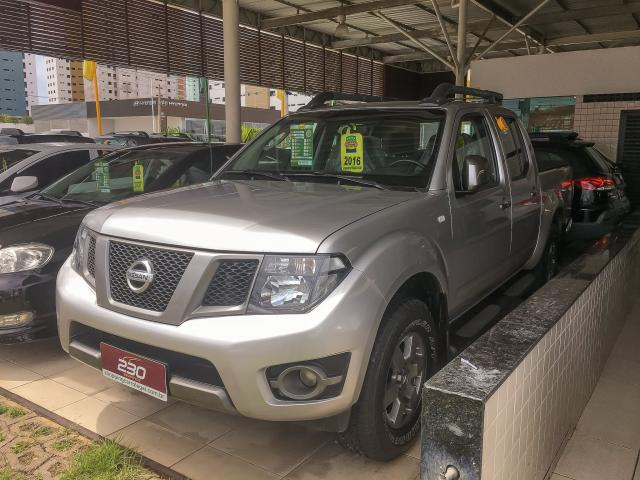 NISSAN FRONTIER 2016/2016 2.5 SV ATTACK 4X4 CD TURBO ELETRONIC DIESEL 4P AUTOMÁTICO - Foto 3