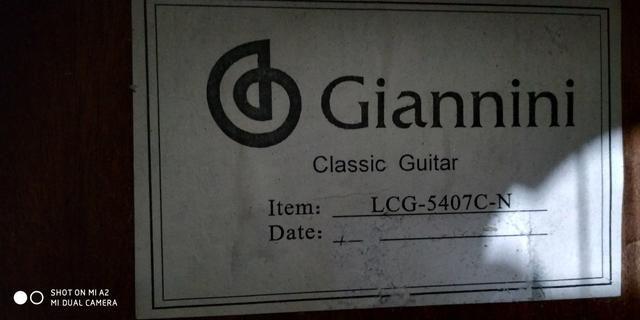 Violão Giannini modelo LCG 5407 - Foto 2