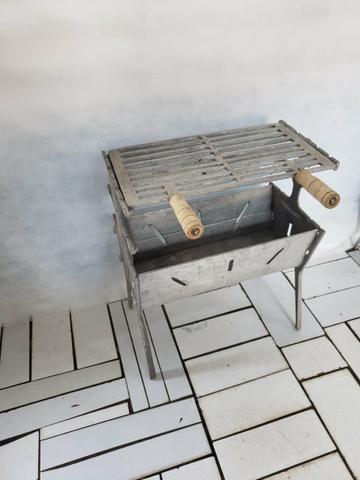 CHURRASQUEIRA MÉDIA alumínio - Foto 2