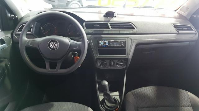 Vw - Volkswagen Gol 1.6 Cinza Metálico 2018 - Foto 9