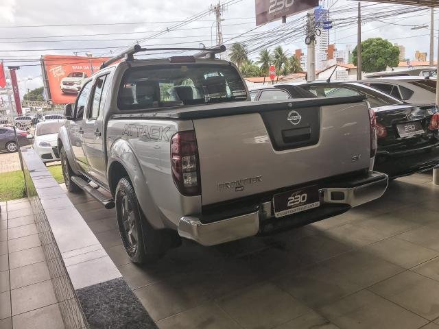 NISSAN FRONTIER 2016/2016 2.5 SV ATTACK 4X4 CD TURBO ELETRONIC DIESEL 4P AUTOMÁTICO - Foto 4