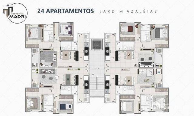 Apartamento com 2 dormitórios à venda, 65 m² por R$ 182.700,00 - Jardim das Azaléias - Poç - Foto 4