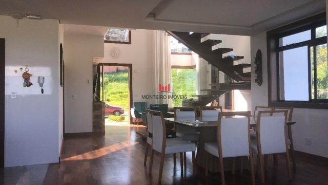 Exclusiva Casa moderna com 4 quartos sendo 3 suítes no Condomínio Alphaville Vespasiano - Foto 4