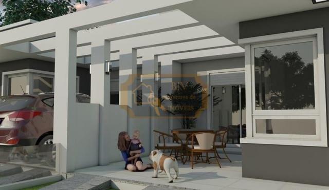 Casa geminada , em bairro planejado 96 m² , 3 dorm , um suíte ,pátio . - Foto 4
