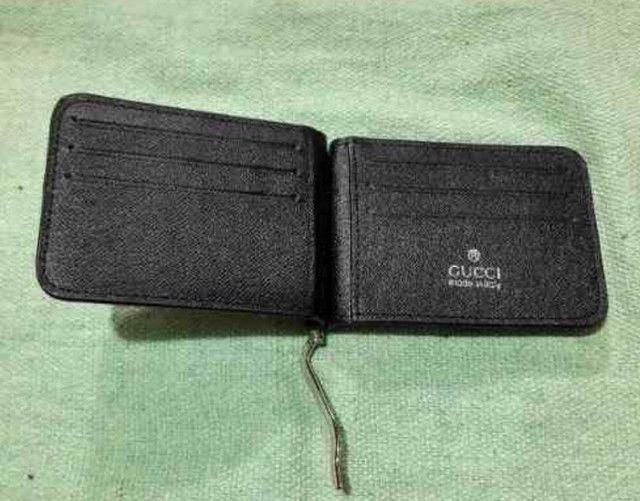 Carteira Gucci com porta notas e cartões  - Foto 3
