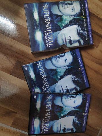 Supernatural - Segunda temporada completa - Foto 3