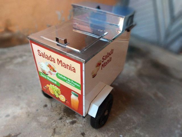 Carrinho de açaí ou sorvete nunca usado - Foto 3