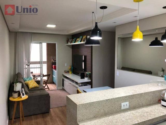 Apartamento com 3 dormitórios à venda, 68 m² por R$ 390.000 - Alto - Piracicaba/SP - Foto 7
