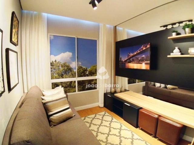 Apartamento com 2 dormitórios à venda, 46 m² por R$ 159.990 - Tijuca - Campo Grande/MS - Foto 3