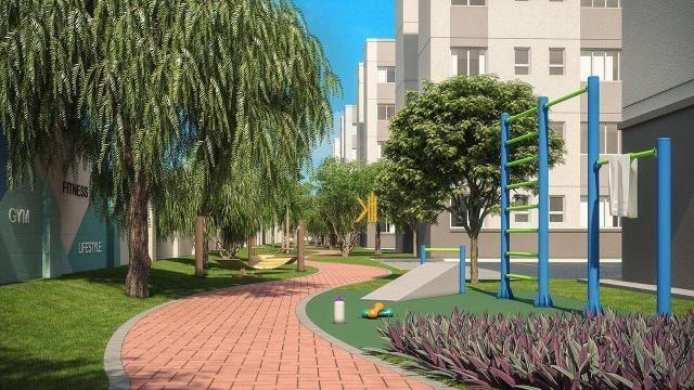 Apartamento com 2 dormitórios sendo 1 suíte reversível à venda, 42 m² por R$ 143.635 - Tam - Foto 9