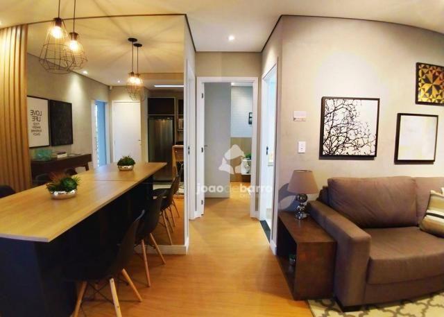 Apartamento com 2 dormitórios à venda, 46 m² por R$ 159.990 - Tijuca - Campo Grande/MS - Foto 4