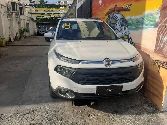 fiat toro 2019 automatico com gnv 69.900 financiado+entrada - Foto 2
