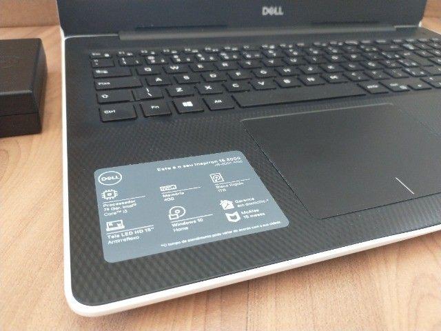Notebook Dell Inspiron 3000 +Intel Core-i3 7020U +DDR4 8Gb +SSD M.2 128Gb NVMe +HDD 1Tb - Foto 3