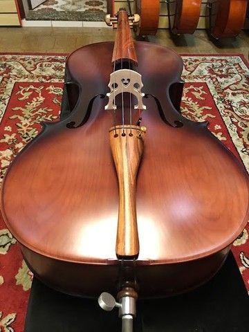 Violoncelo 4/4 Nhureson premium madeira nobre exposta Araucaria Serie limitada - Foto 4