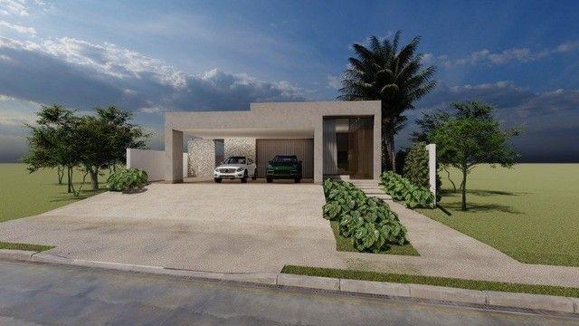 Casa de condomínio Linear 338M² Lote 1.000M² 4 suítes e tudo Mais. Alphaville Lagoa Ingles