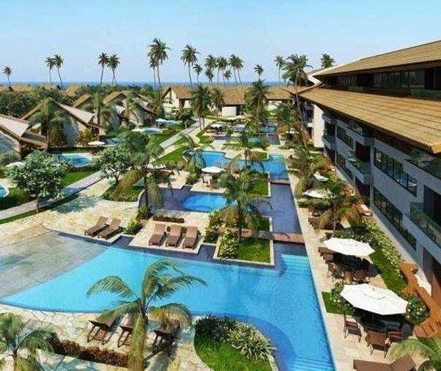 GN-Bangalô mobiliado beira mar de Muro Alto, piscina privativa, 5 quartos. Última unidade - Foto 2
