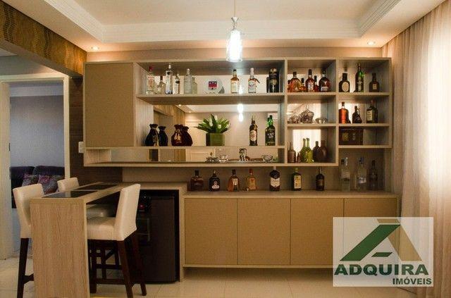 Apartamento com 3 quartos no Edifício Vitória Regia - Bairro Centro em Ponta Grossa - Foto 4