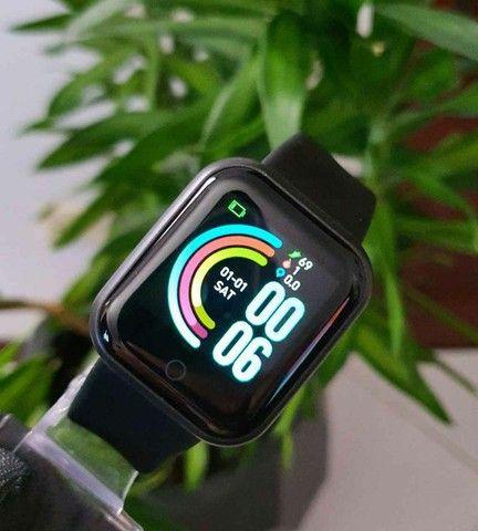?Promoção?Y68 D20 Relógio Smart Watch com Bluetooth USB com Monitor - Foto 3