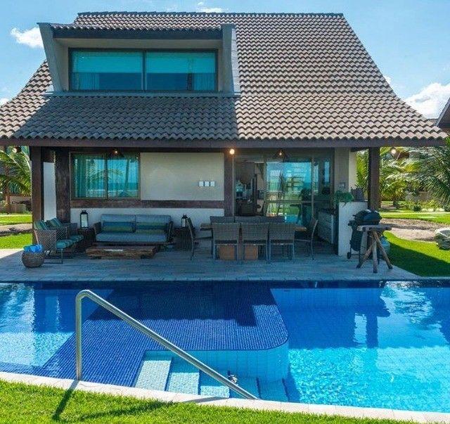 GN-Bangalô mobiliado beira mar de Muro Alto, piscina privativa, 5 quartos. Última unidade - Foto 3