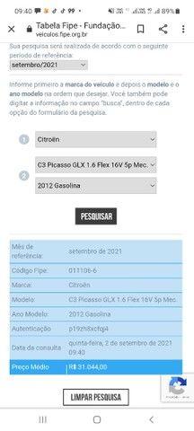 C3 Picasso 12/12 GNV  (PREÇO P/ SAIR LOGO) - Foto 6