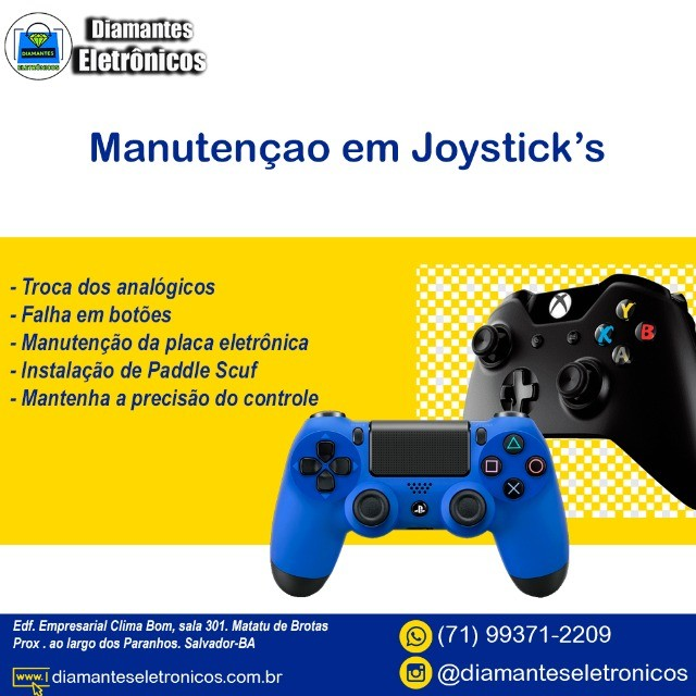 Controle Joystick Para Xbox One (Leia o anúncio) Loja Física - Foto 3