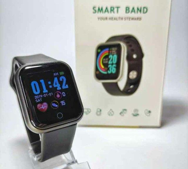 ?Promoção?Y68 D20 Relógio Smart Watch com Bluetooth USB com Monitor - Foto 2