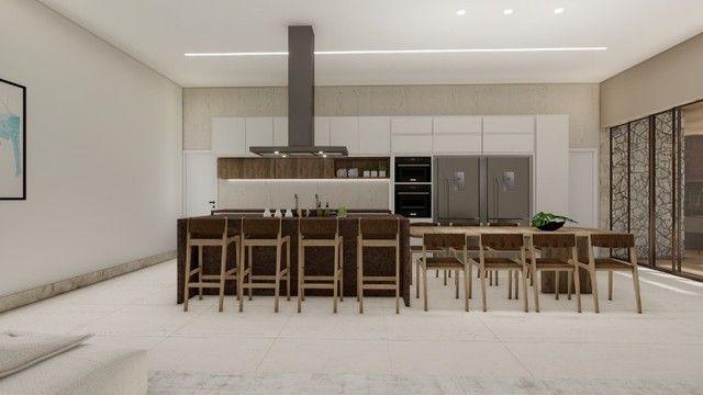 Casa de condomínio Linear 338M² Lote 1.000M² 4 suítes e tudo Mais. Alphaville Lagoa Ingles - Foto 4