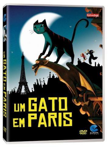 Dvd Um Gato Em Paris / Une vie de chat / Novo, original e lacrado