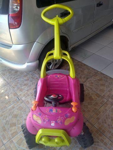 Carrinho smart com pedal