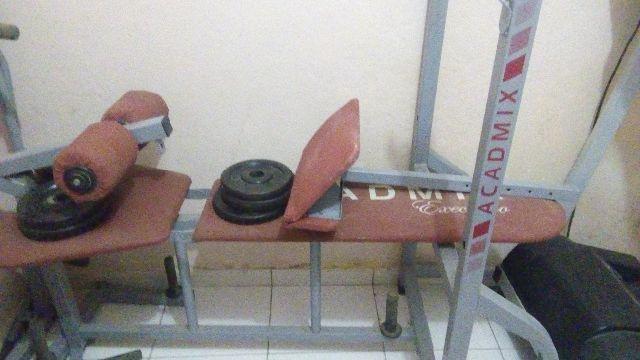 Estação de musculação Academix