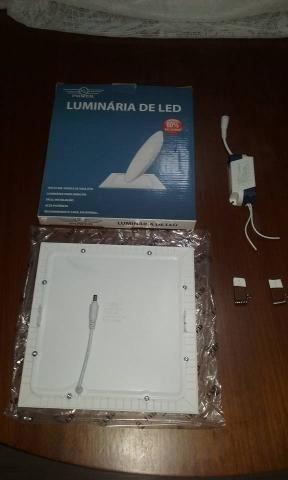 Luminaria Led tipo Plafon 18 W de embutir