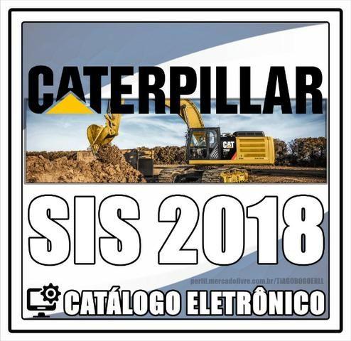 Caterpillar Sis 2018 (Catálogo de Peças e Serviços)