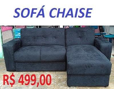 O Menor Preço da Ilha Sofa Chaise (Novo) Embalado Super Barato 499,00