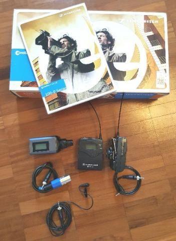 Microfone Sennheiser lapela Ew100 Eng G3 - Perfeito Estado
