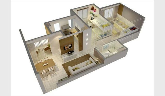 (A132) 02 Quartos,52 m2, Lazer,Elevador, Jacarecanga - Foto 11
