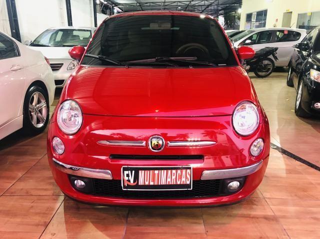 Fiat 500 2013 cult dualogic 1.4 completo revisado baixa km