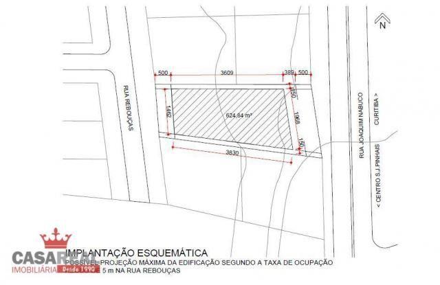 1041,40 m², prox. portal, duas frentes, comercial ou residencial - zr-4 coeficiente 2,5 e  - Foto 12