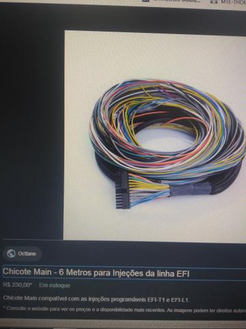 Injeção programável efi-t1 OCTTANE - Foto 2
