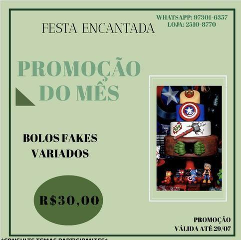 Promoção Bolo Fakes - Foto 6