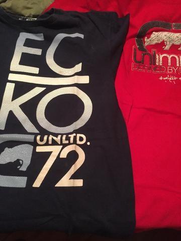 Camisetas ECKO unlimited originais