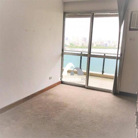 Apartamento com 3 dormitórios à venda, 160 m² - lagoa - rio de janeiro/rj - Foto 11