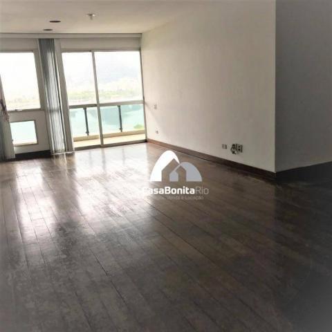 Apartamento com 3 dormitórios à venda, 160 m² - lagoa - rio de janeiro/rj - Foto 6