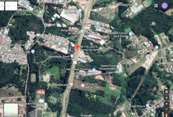 Terreno à venda, 54450 m² por R$ 10.000.000,00 - Tatuquara - Curitiba/PR - Foto 4