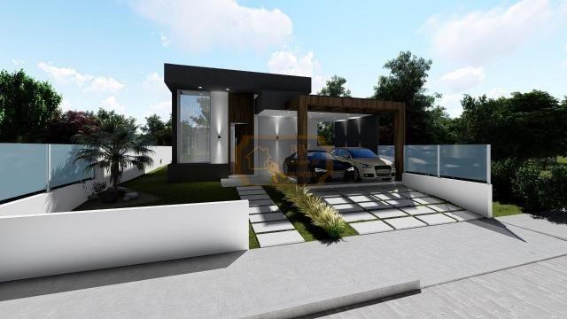 Casa alto padrão, 3dorm c/ suíte, churrasqueira e piscina.